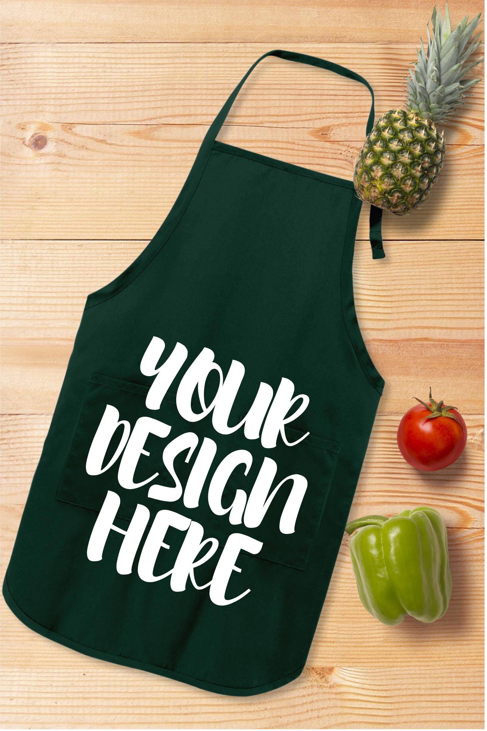 Apron Mock Ups Bundle With Kitchen Theme - 6 example image 4