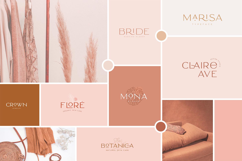 Classy Marisa - Elegant Fashion Stylish Typeface example image 4