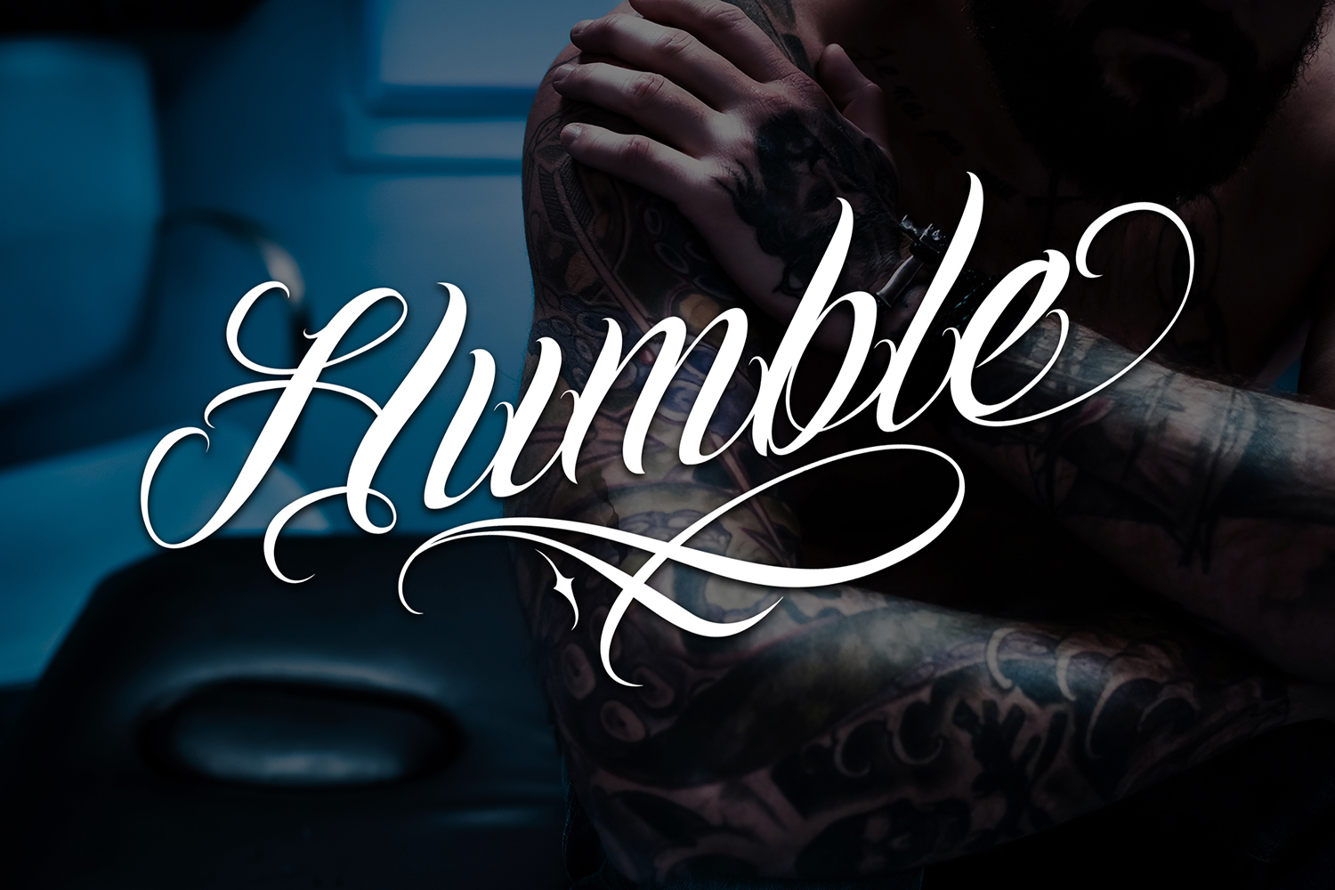 Chicano Font | Tattoo Style example image 2