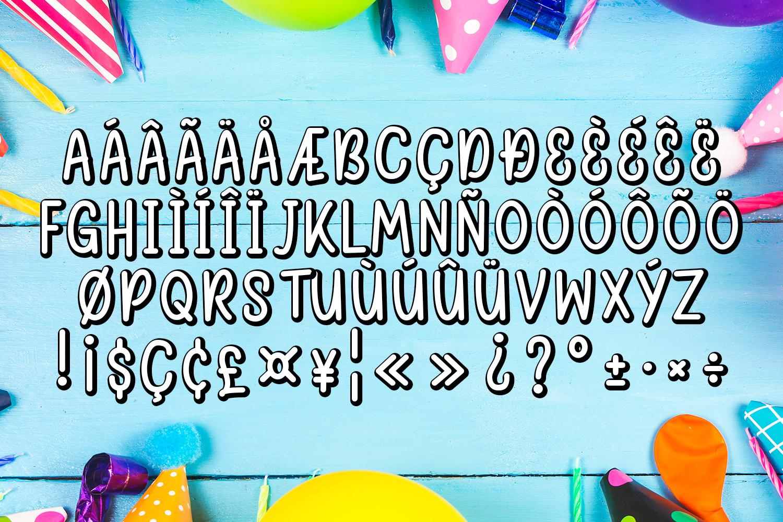 Happy Birthday Font example image 4