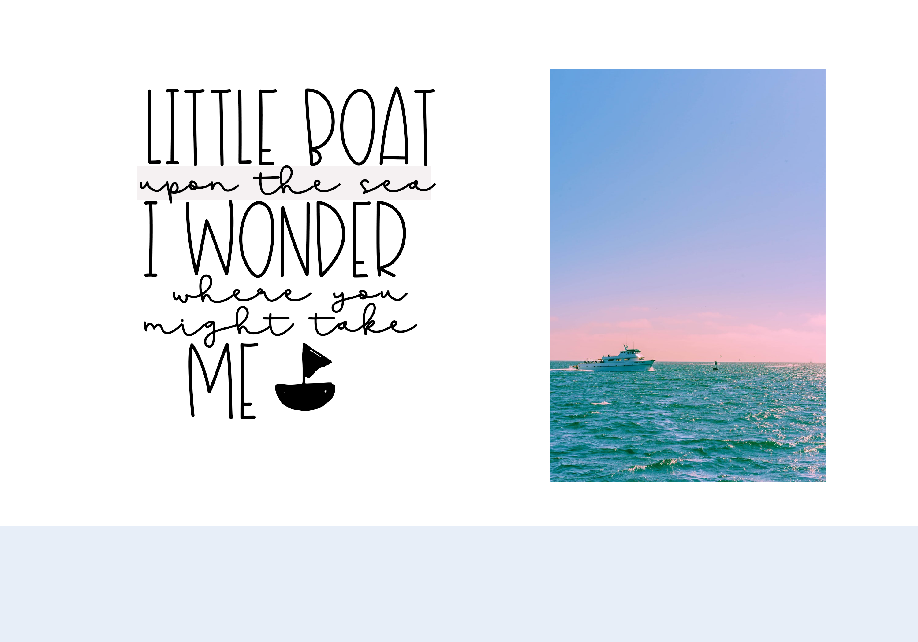 Sailboat - A Fun Handwritten Font example image 3