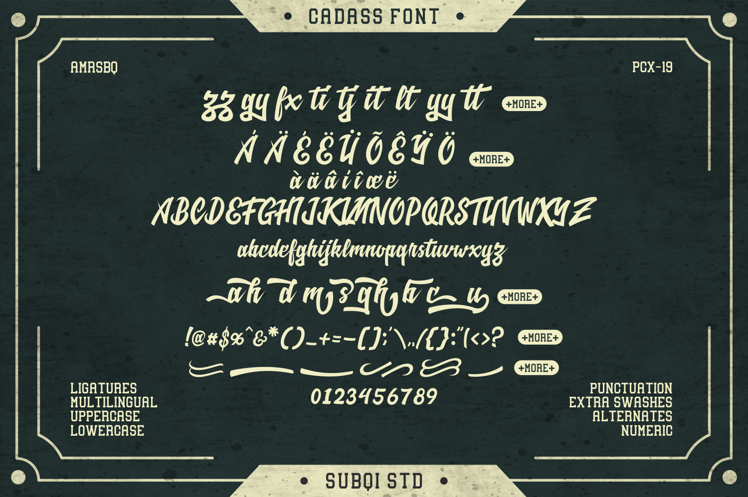 Cadass Font Duo 70% OFF example image 2