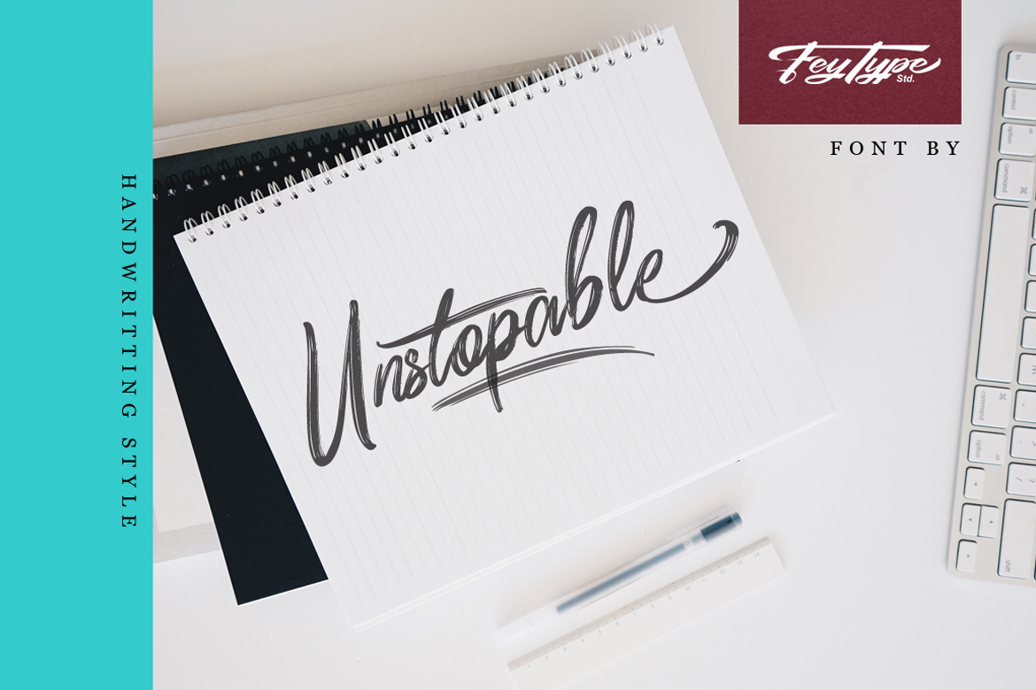 Dragtime - Handwritting Script Font example image 3