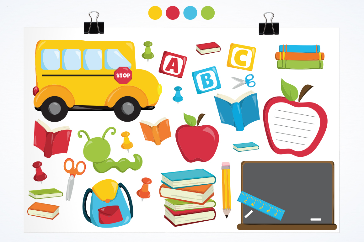 Back to School graphic and illustrations example image 2