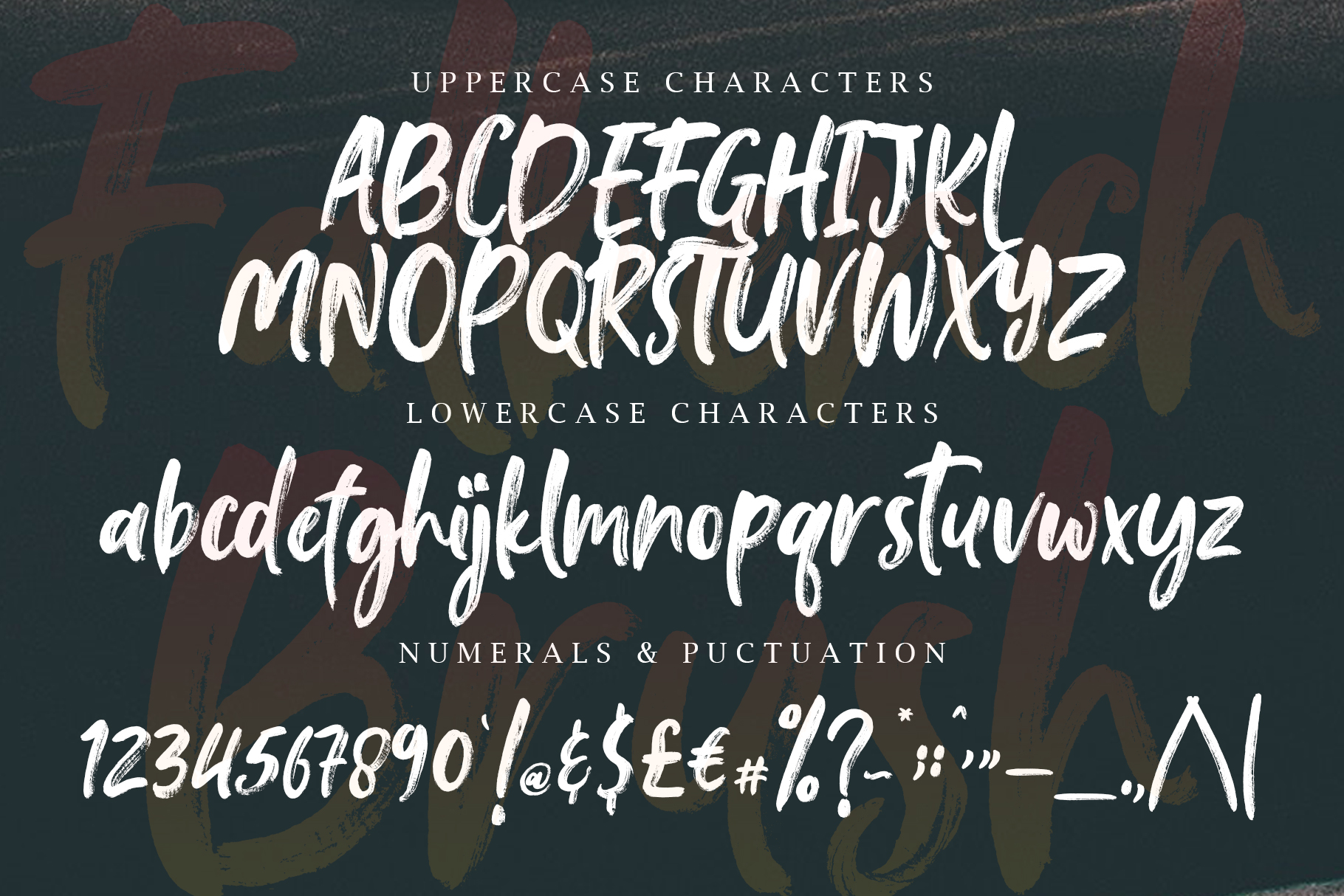 Falbench SVG & Brush Font example image 16