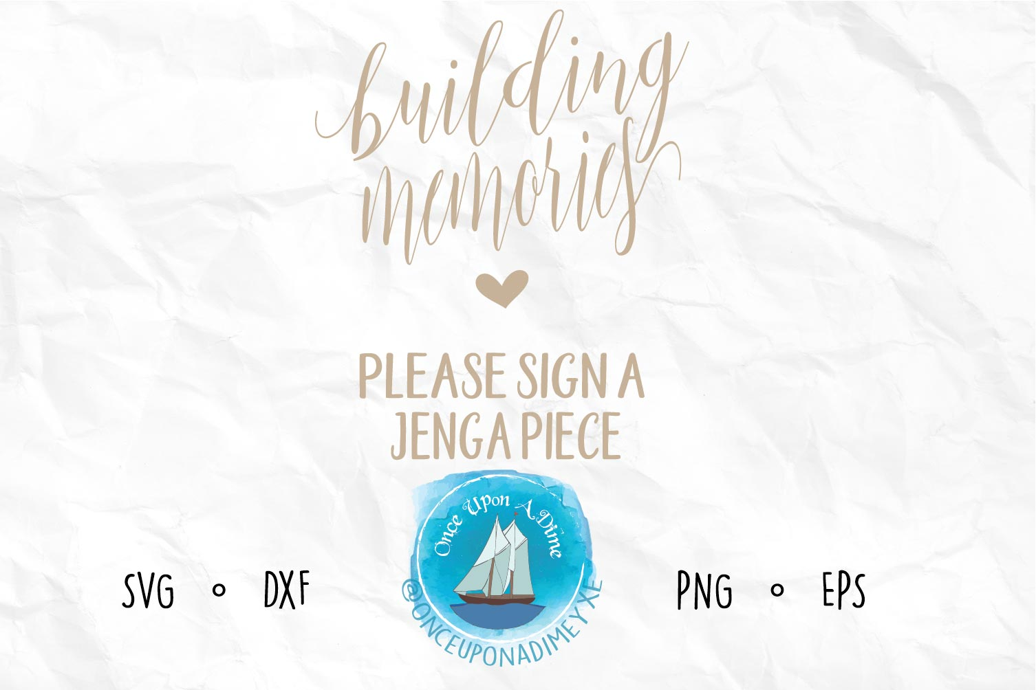 Building Memories | Wedding |Wedding SVG Cut File example image 1
