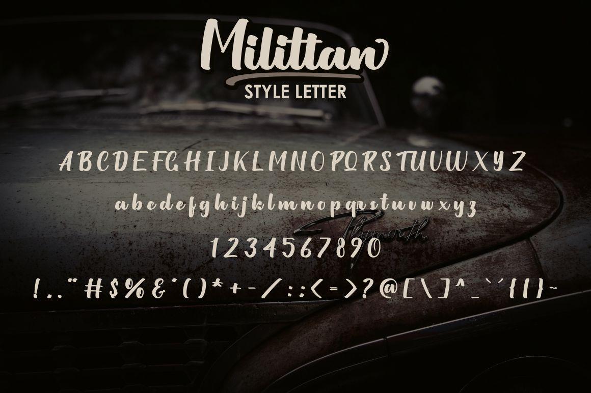 Milittan example image 5
