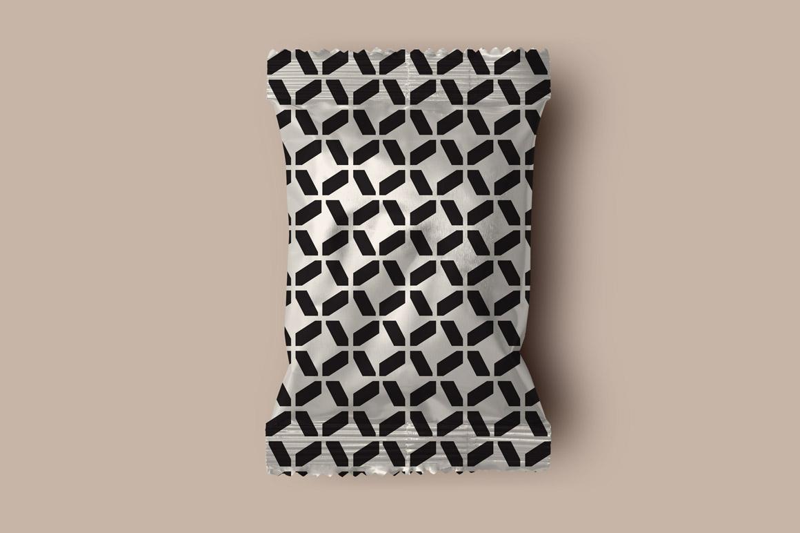 Set of seamless geometric patterns example image 4