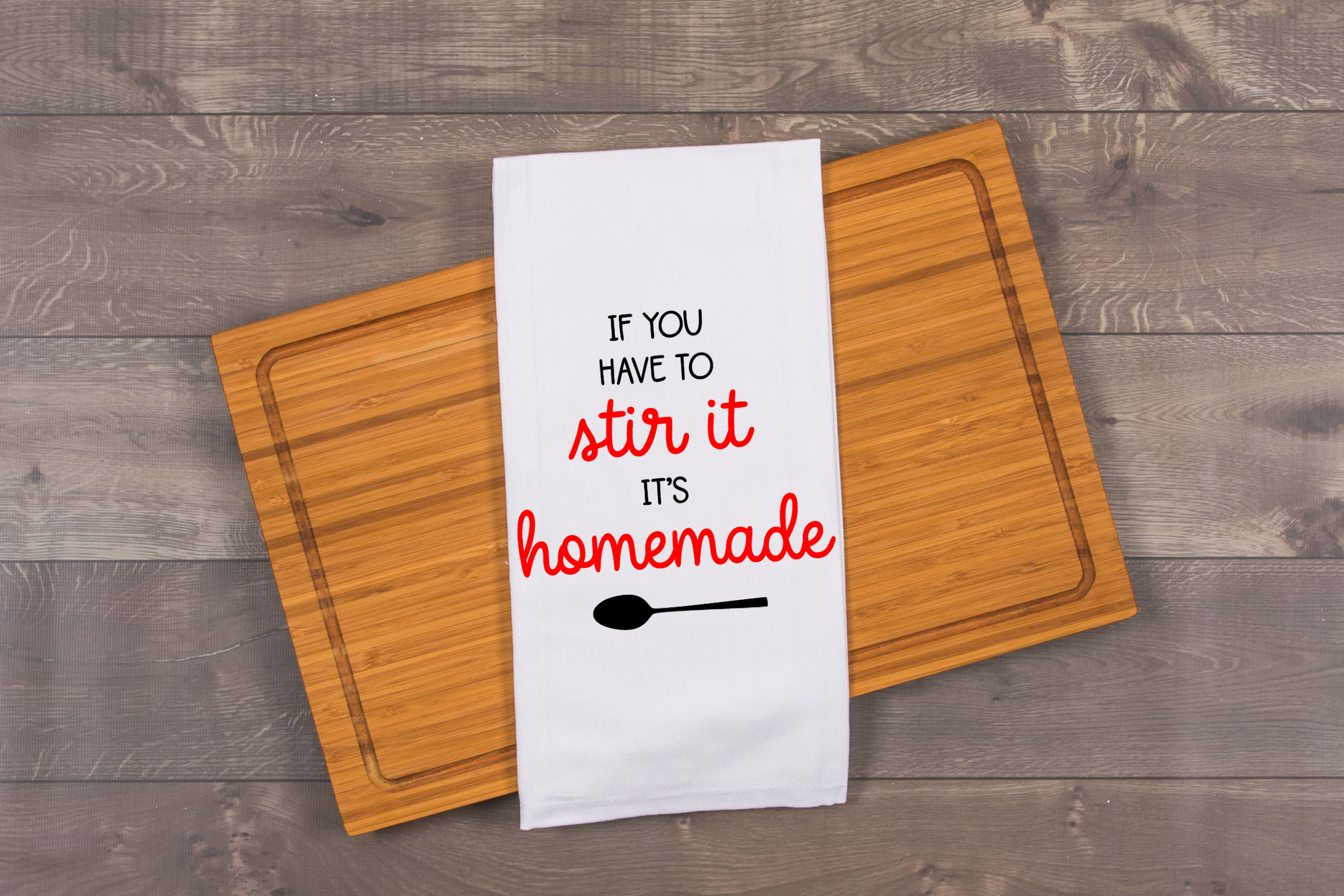 If you have to stir it, it's homemade SVG example image 2