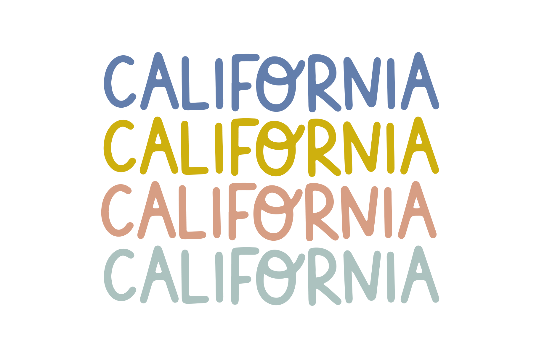 California - A Handwritten Font example image 4