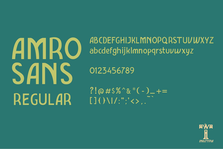 Amro Sans example image 6