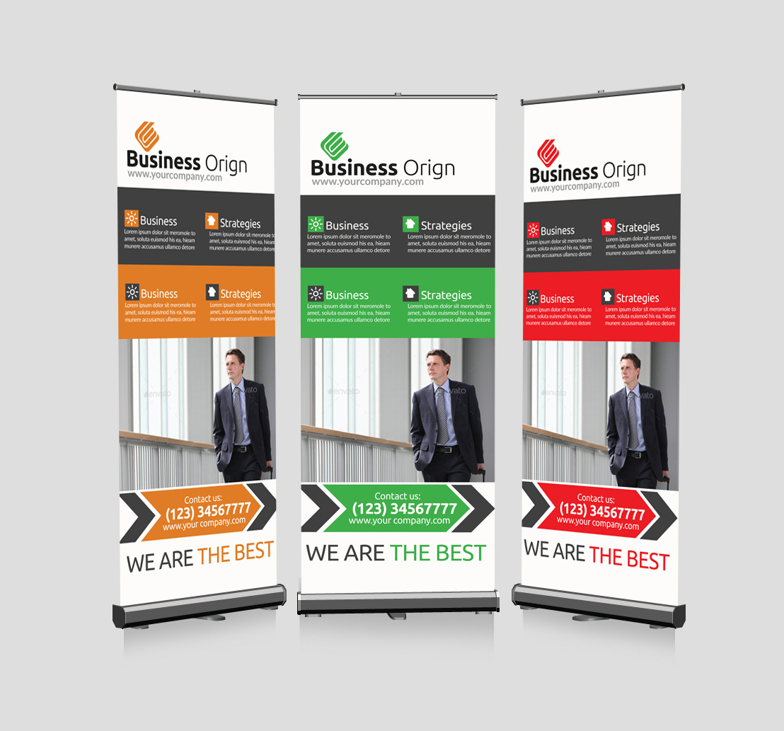 Legal Business Advisor Roll Up Banners example image 1