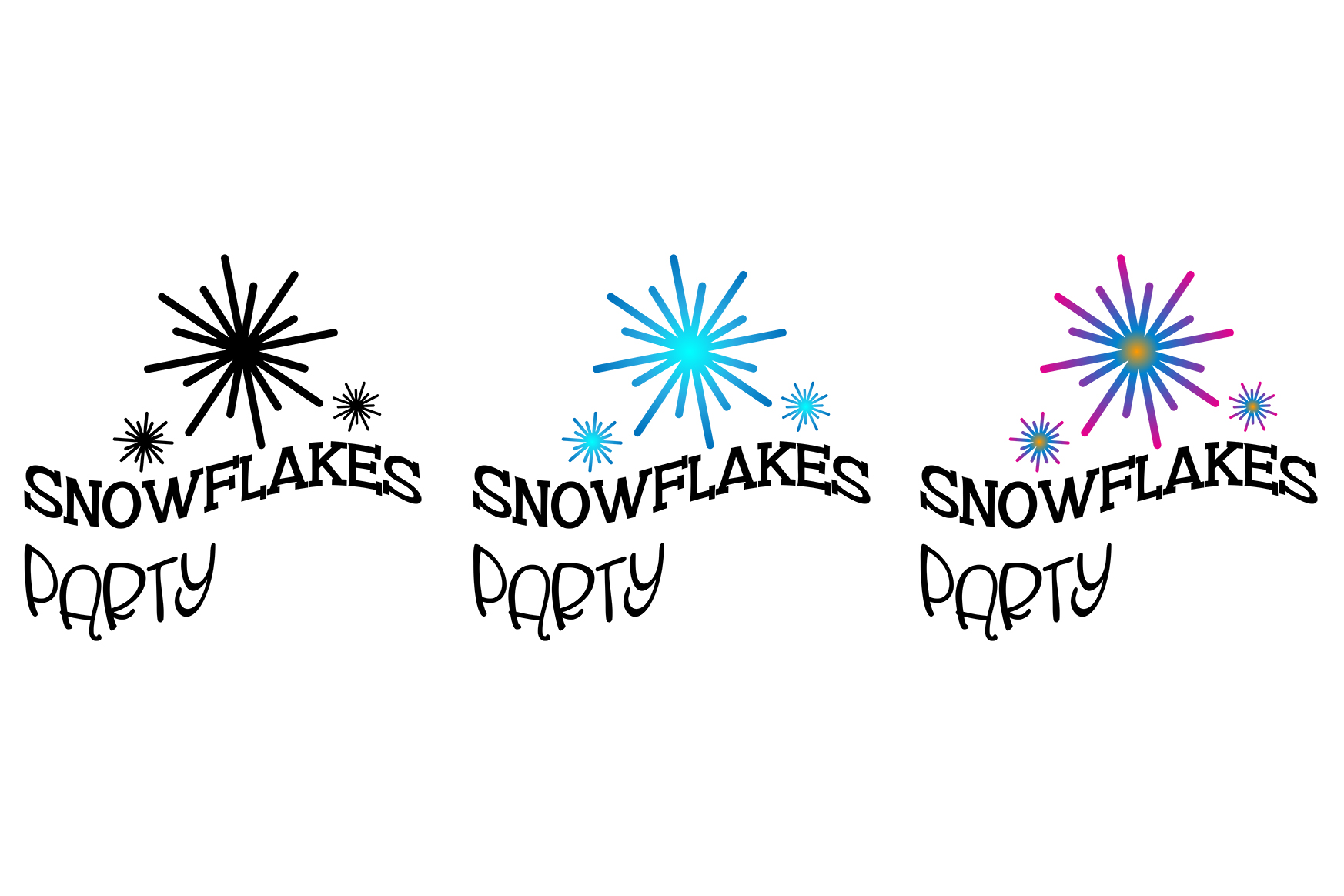 Snowflakes Party example image 1