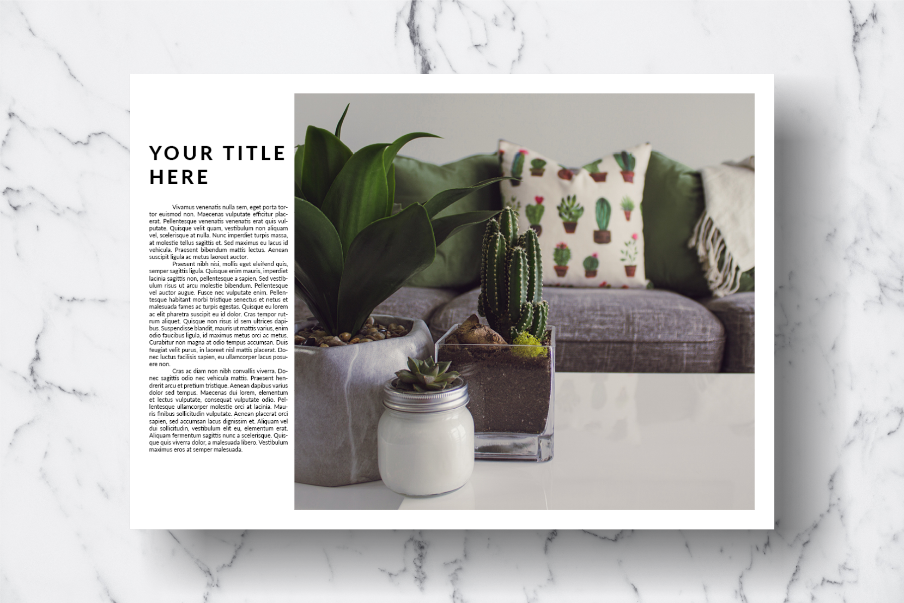 Magazine Template Vol. 14 example image 4