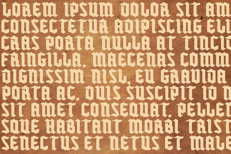 Buntisland Typeface Family example image 18