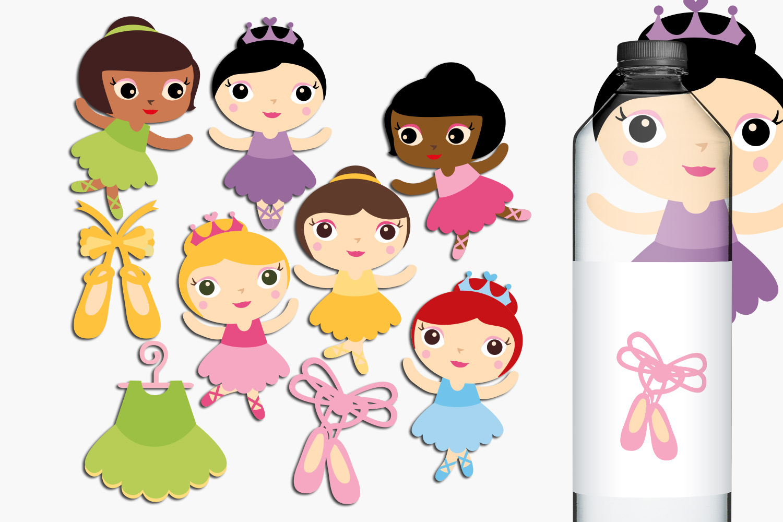 Just For Girls Clip Art Illustrations Huge Bundle example image 8