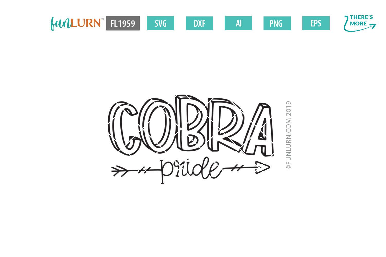 Cobra Pride Team SVG Cut File example image 2