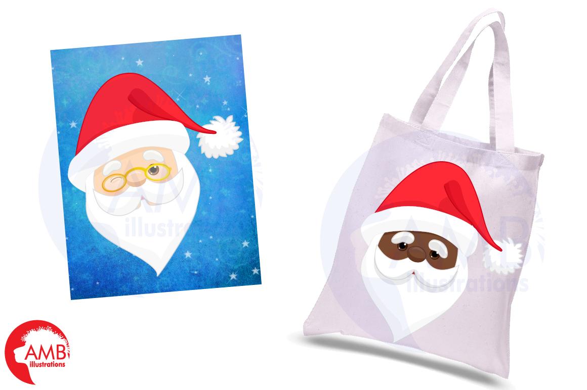 Santa claus emoji, Santa claus emoticons, AMB-2697 example image 5