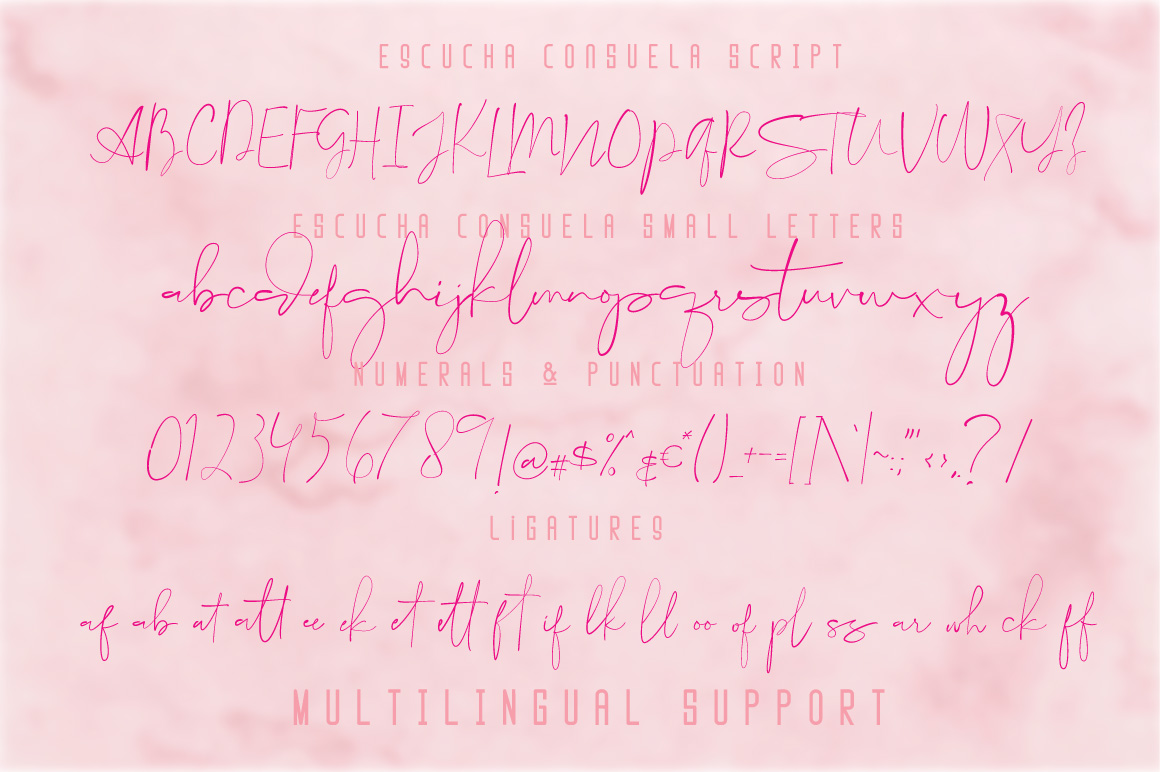 Escucha Consuela Font Duo example image 6