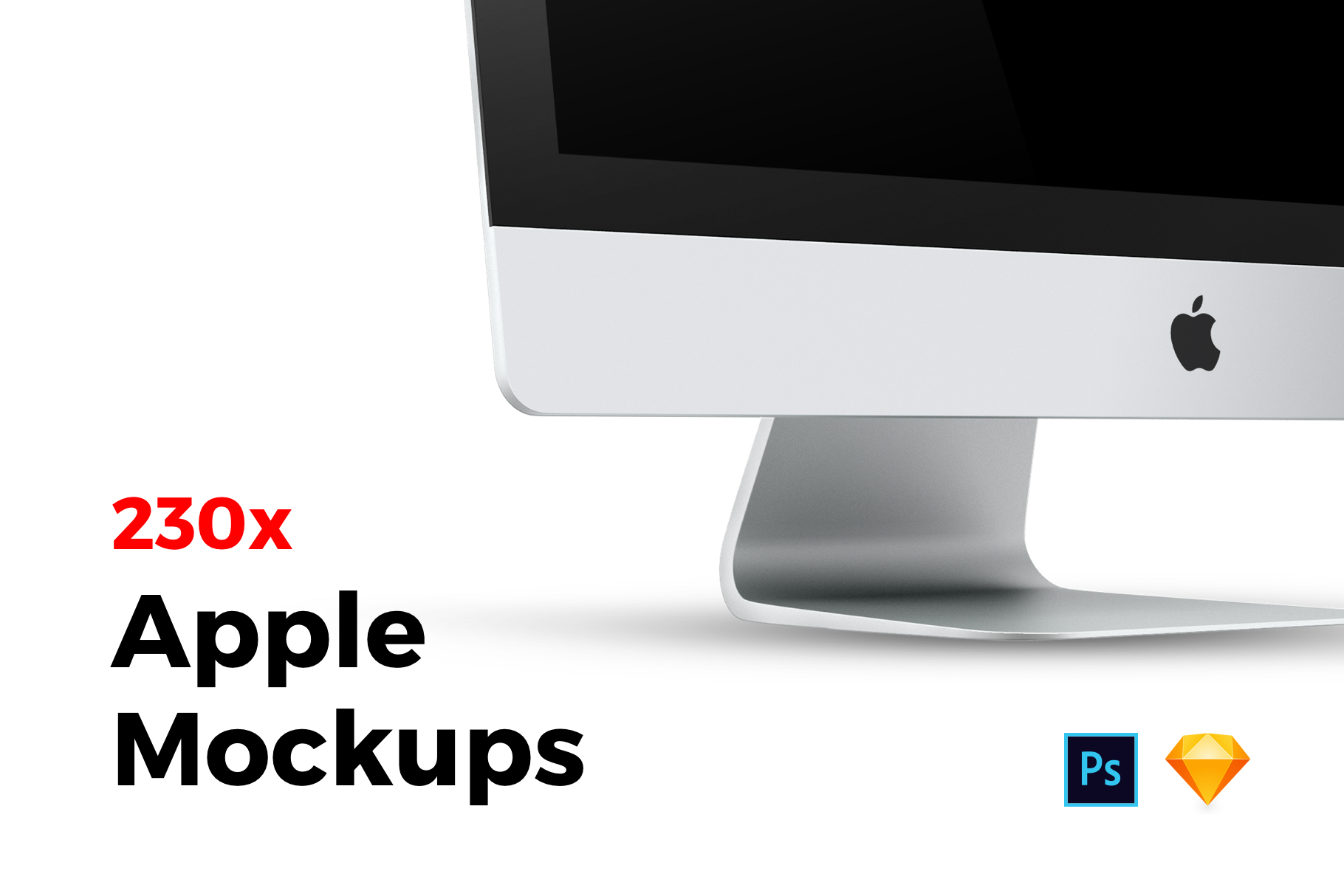 230x Apple Mockups Bundle example image 1