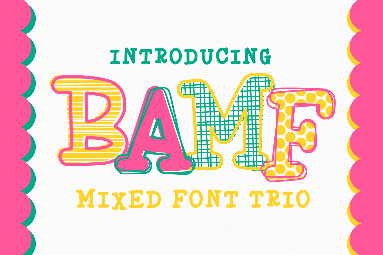 BAMF - A Crazy Font! example image 1