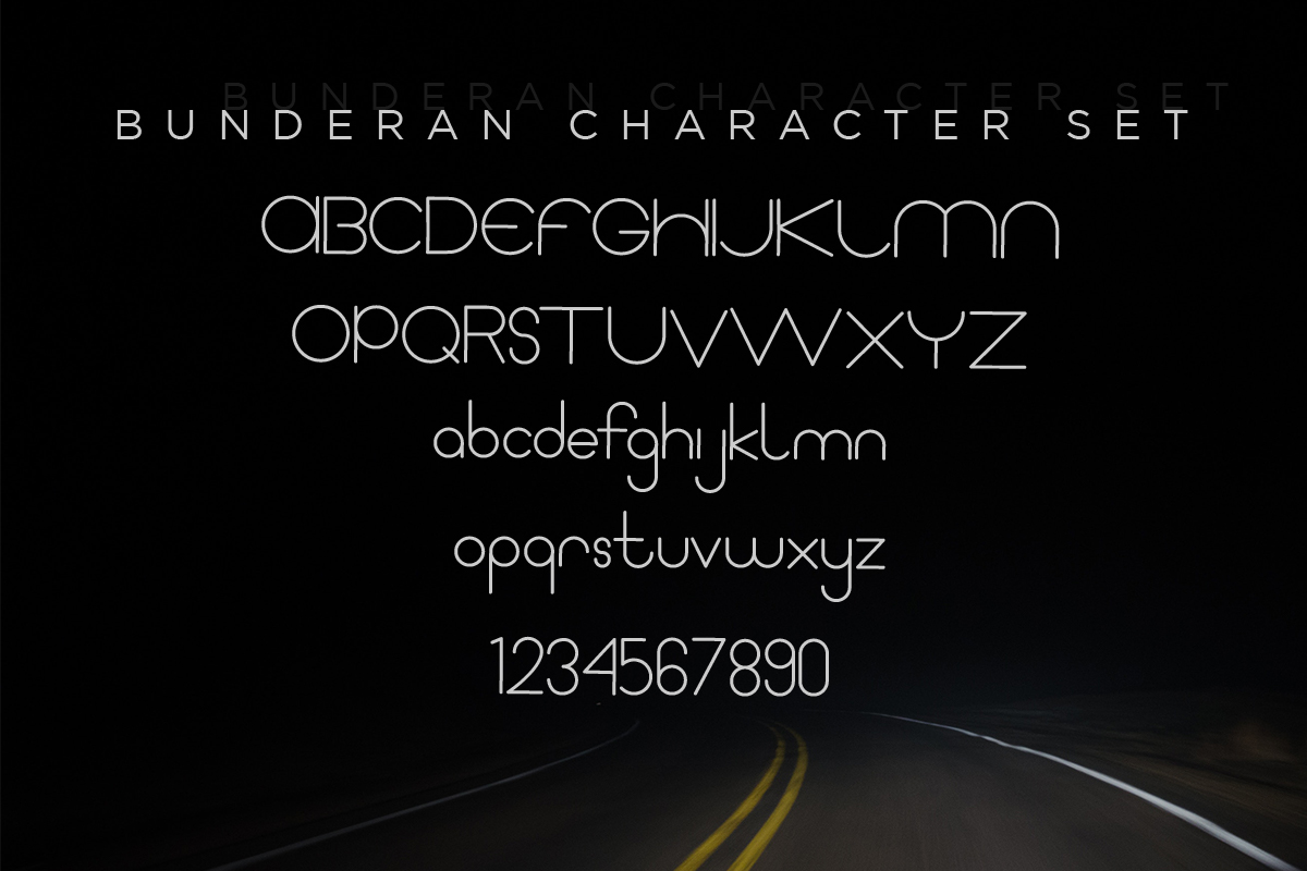 Bunderan Rounded Sans example image 2