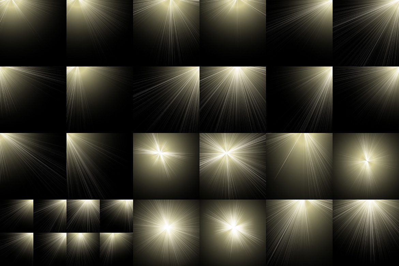 30 Sunburst Overlays example image 3