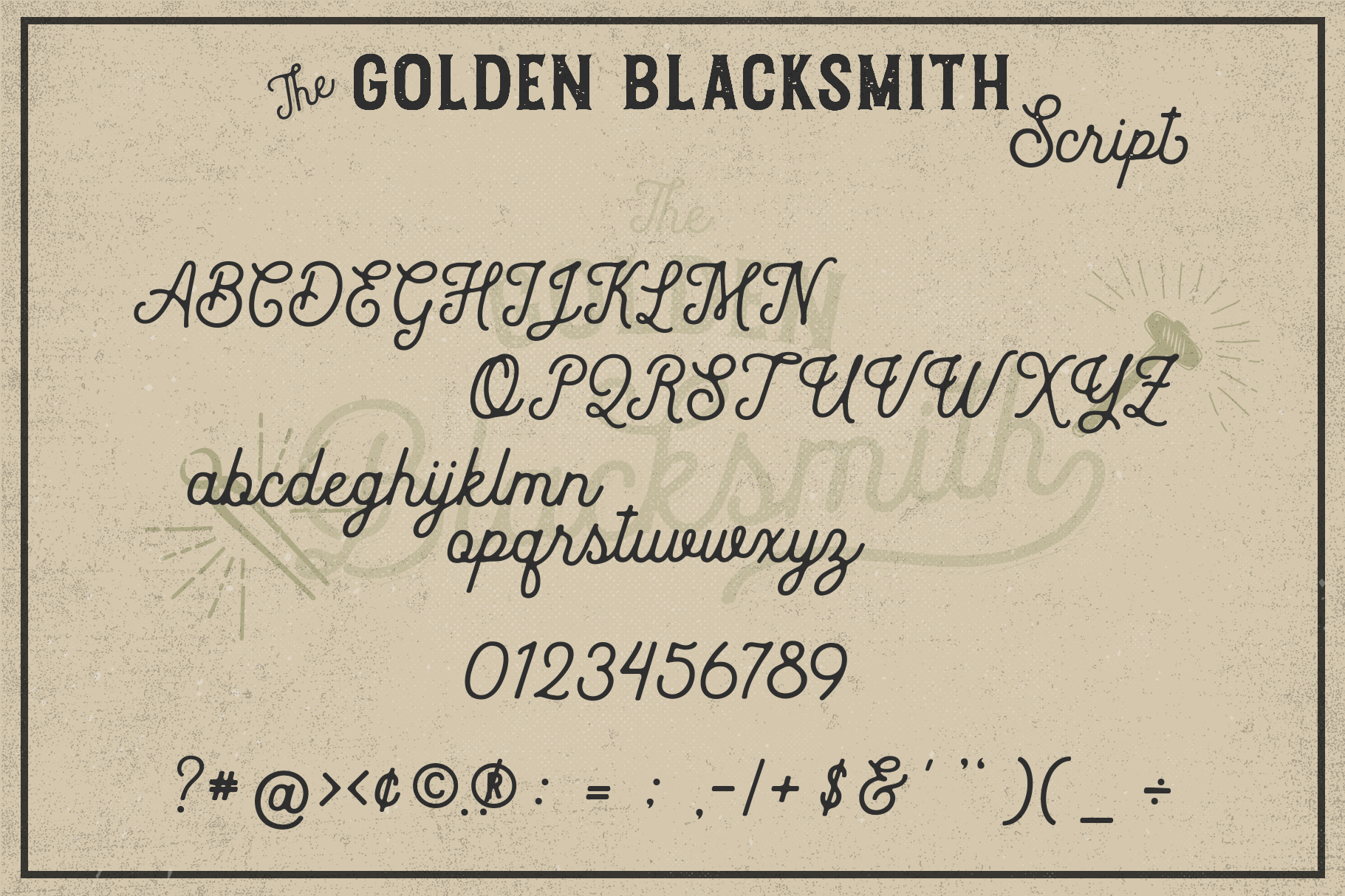 The Golden Blacksmith example image 11