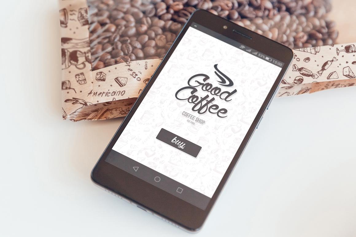 Coffee Branding Mock-up example image 9