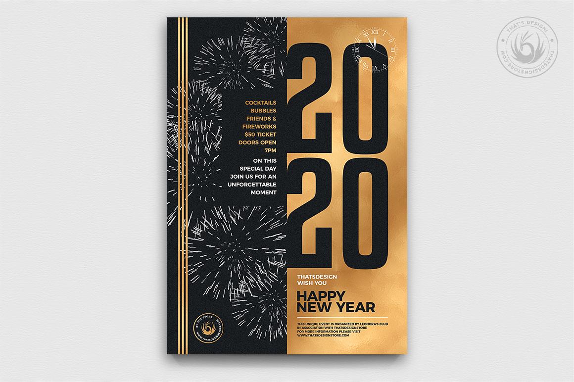 10 New Year Flyer Bundle example image 9