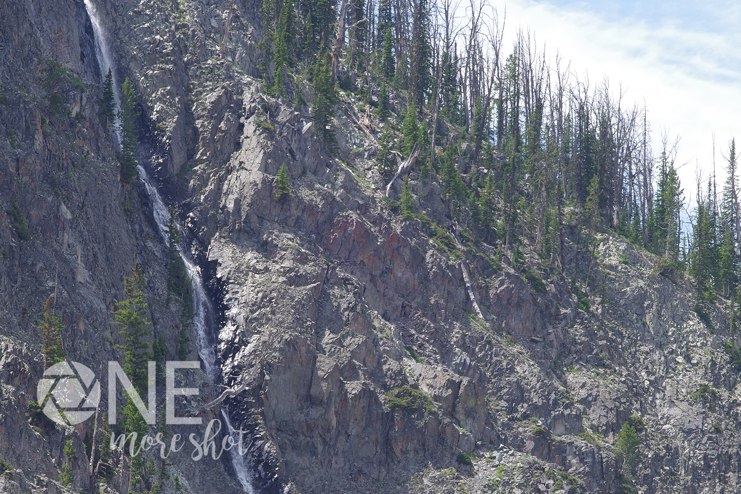 Yellowstone National Park Waterfall - Western USA Photo example image 1