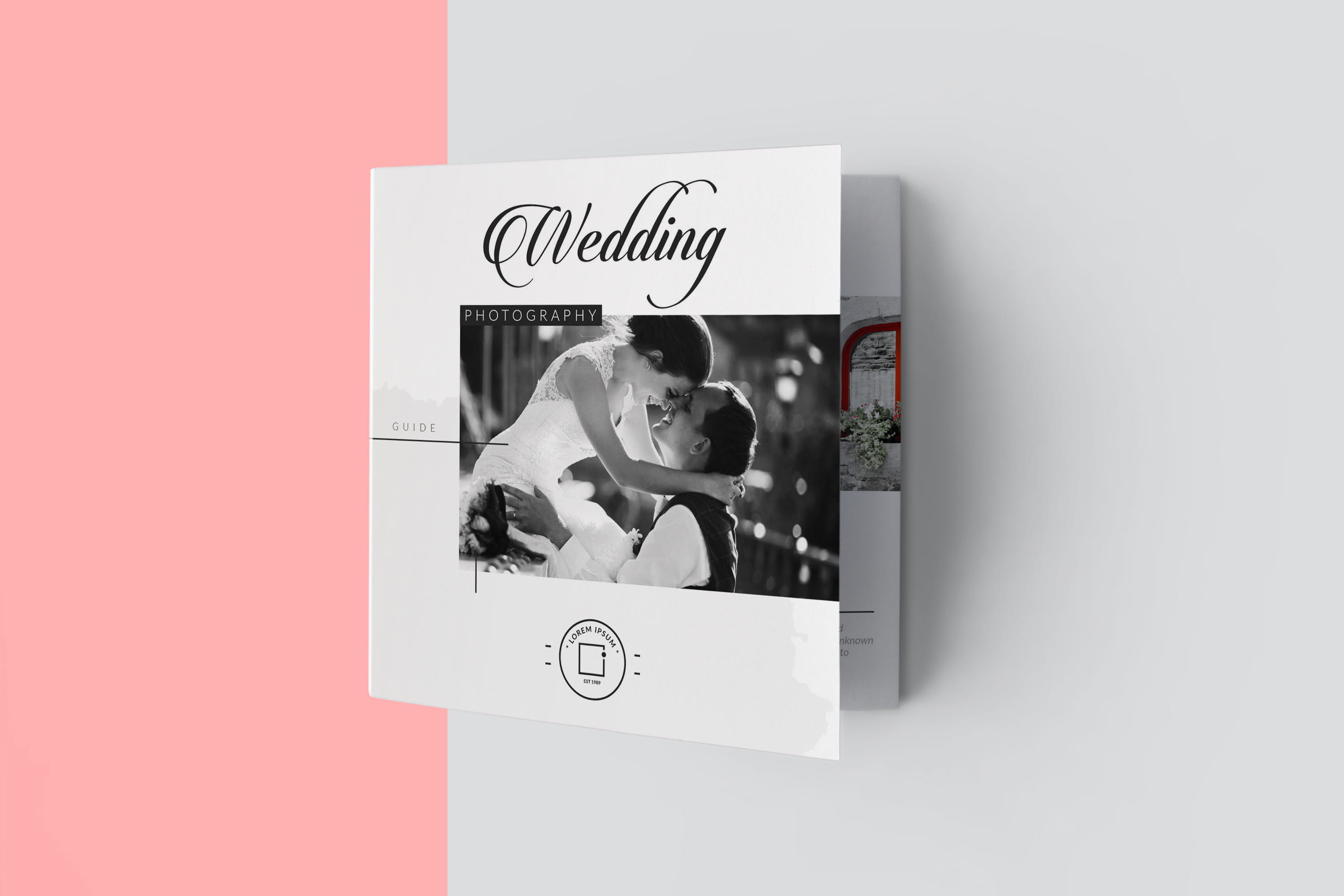 Wedding Photography Pricing Guides Tri-Fold Brochure Layout example image 7