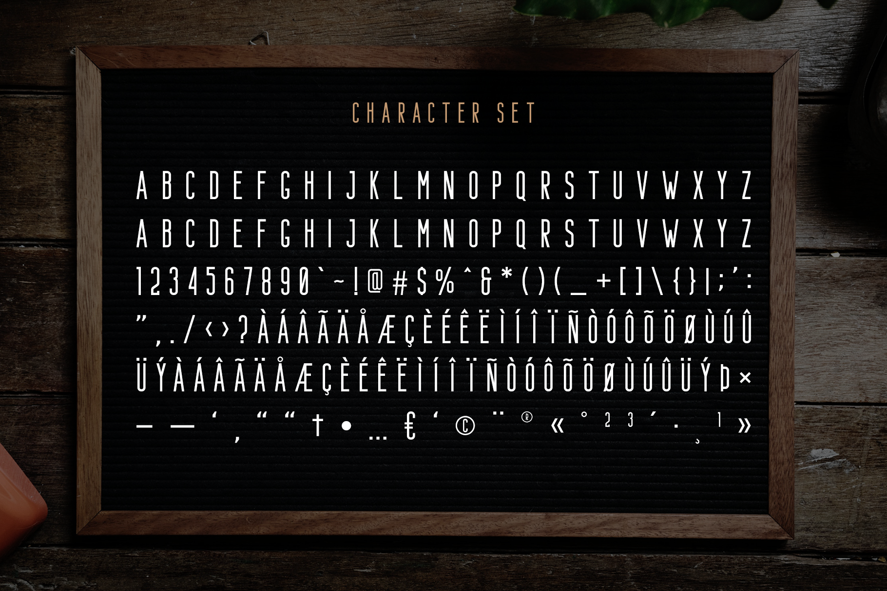 Bondie - Condensed Sans Serif example image 10