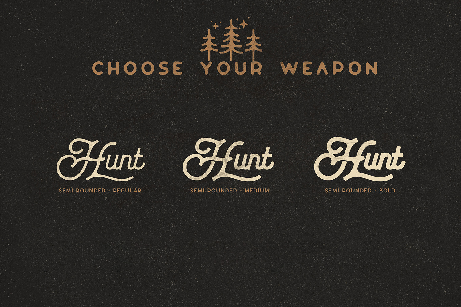The Huntsman Semi Rounded Script and Sans Ver.2 example image 15