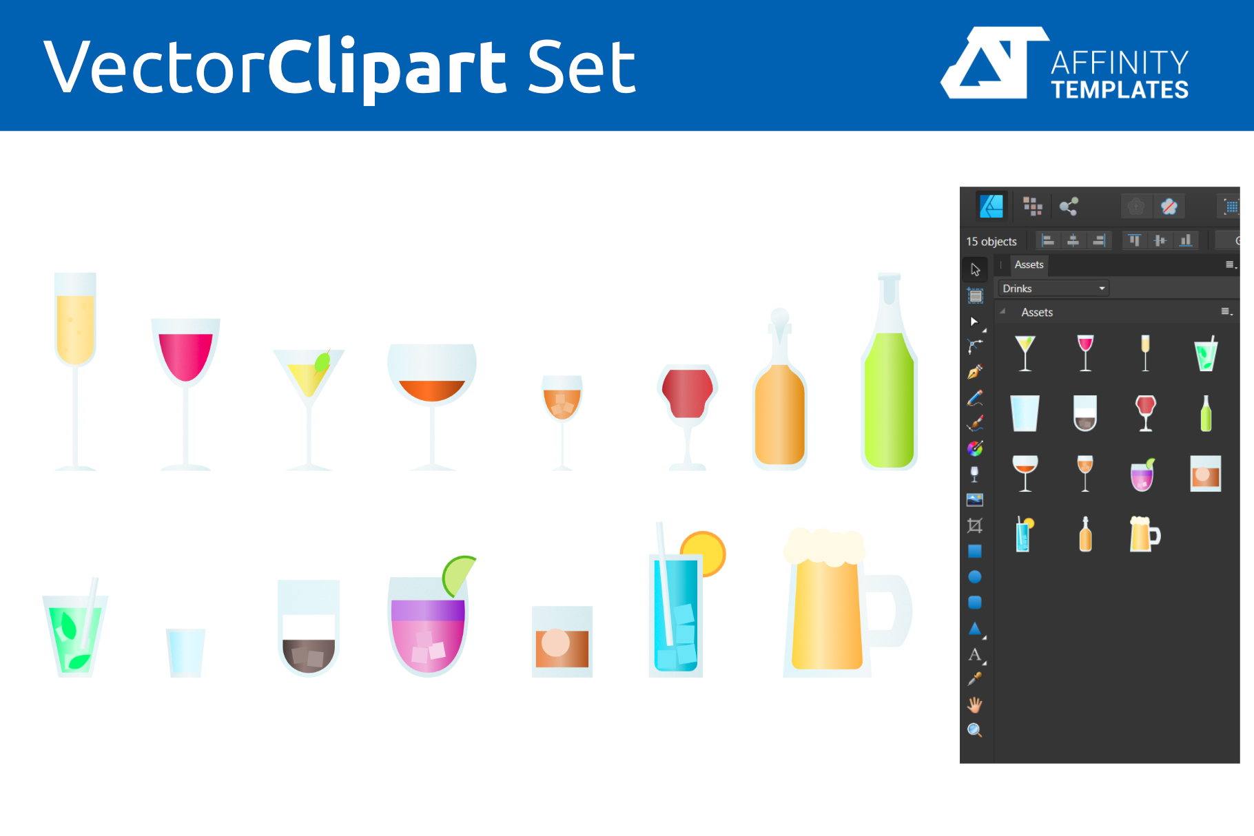Affinity Designer Clip-atrs Bundle example image 8