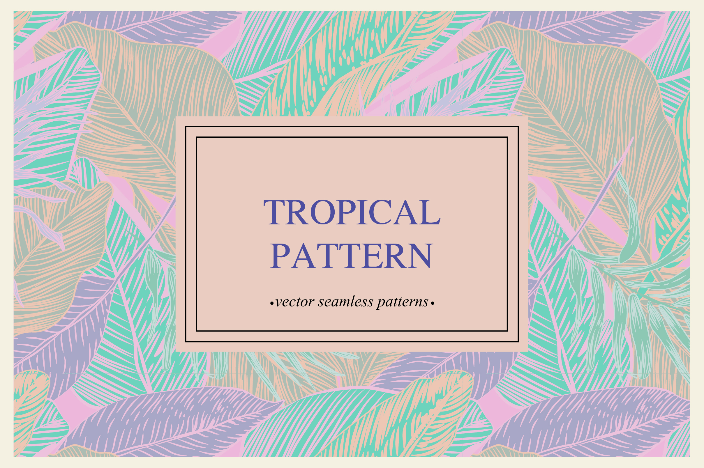 Tropical pattern example image 7
