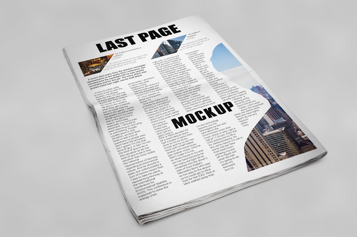 Newspaper Mockup example image 14
