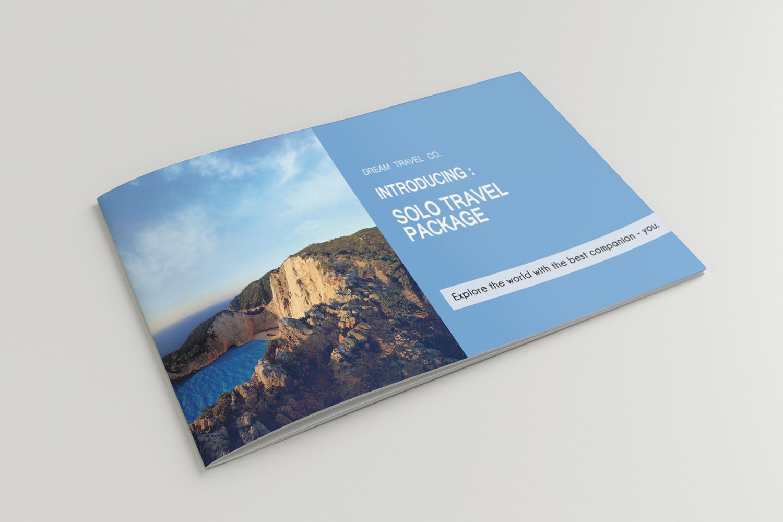 Travel Agency Printable Catalogue - A5-26 PSD Templates example image 2