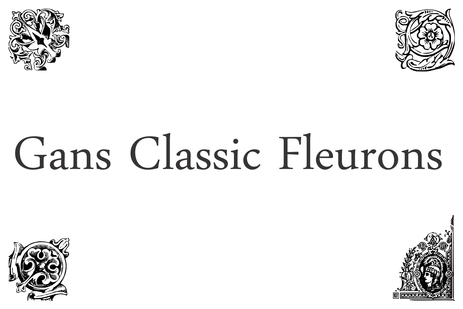 Gans Classic Fleurons example image 3