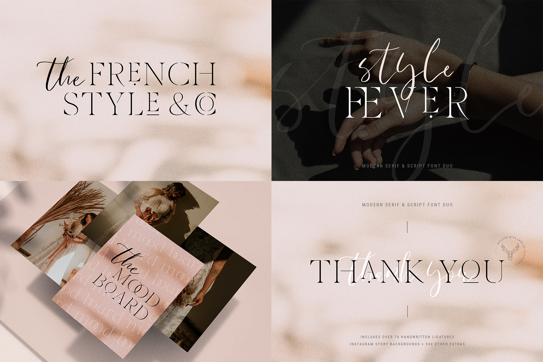 Font Bundle - Limited Time Edition With 80 Percent OFF example image 13