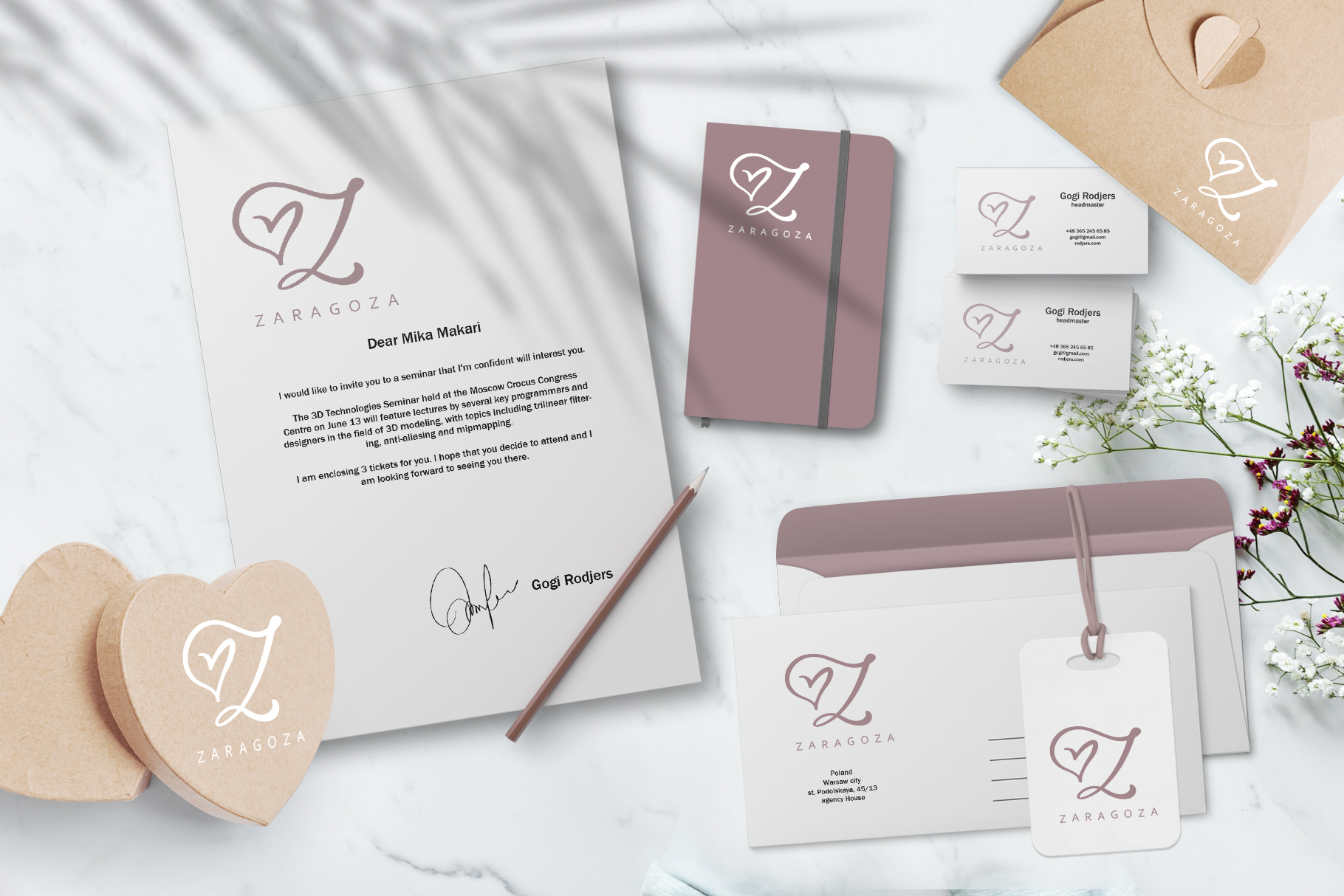 Wedding Heart Monogram Font example image 7