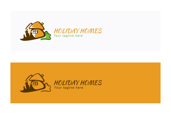 Holiday Homes - Illustrative Stock Logo Template example image 2