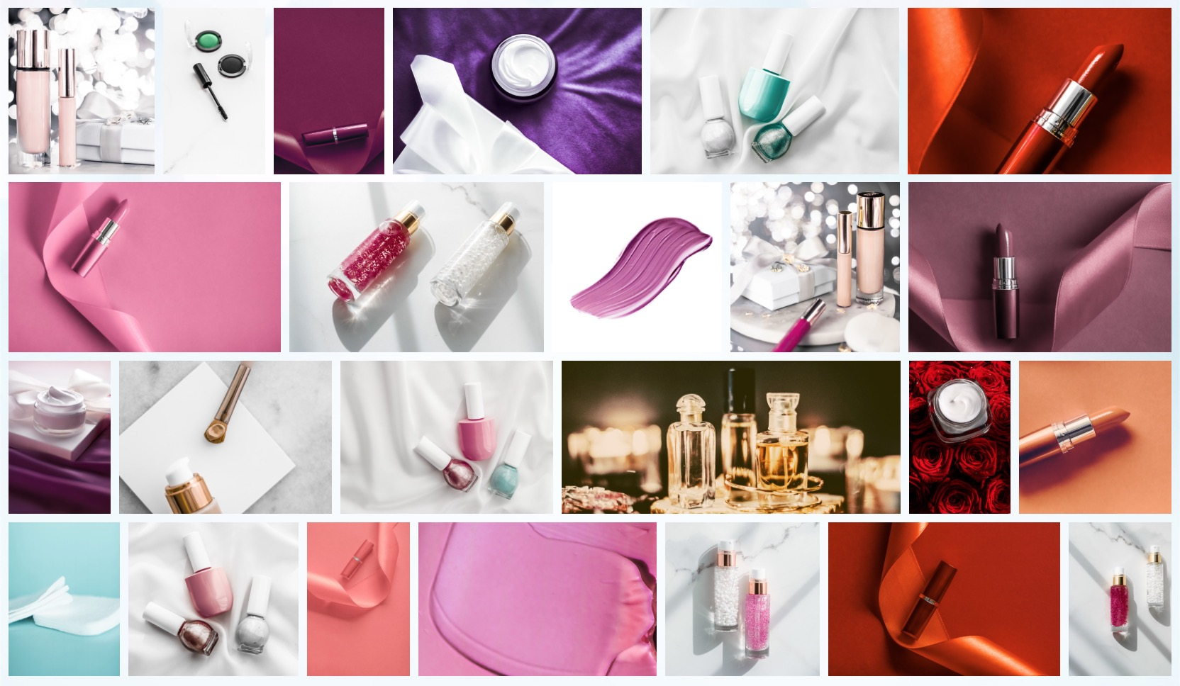 50 Images | Beauty & Make-Up Stock Photo Bundle #1 example image 3