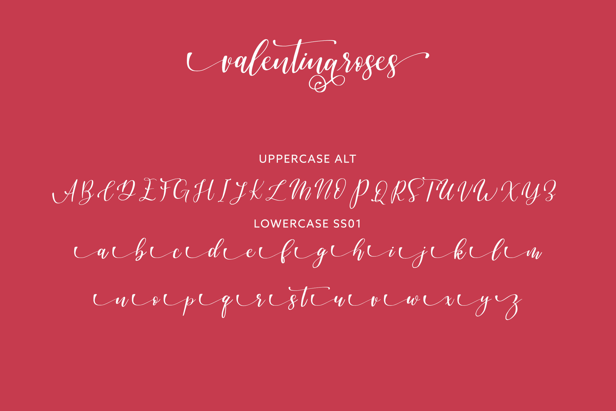 Valentinaroses Lovely Script Font example image 6