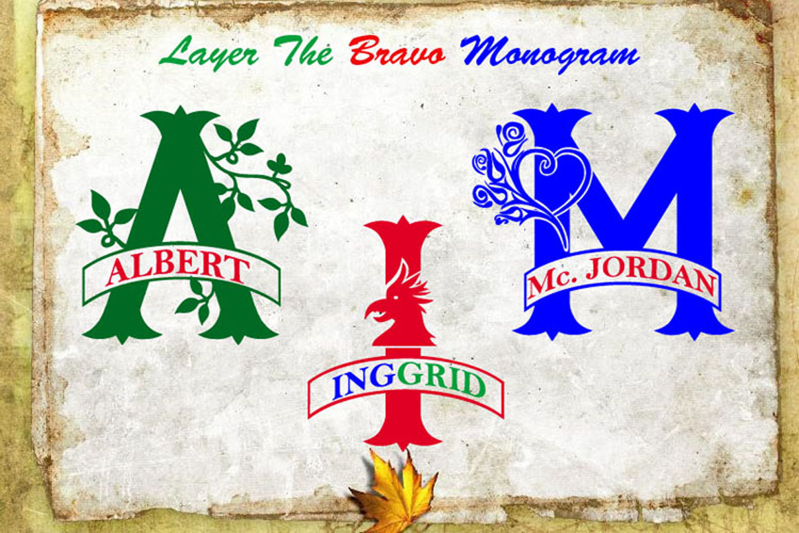 Bravo Monogram example image 2