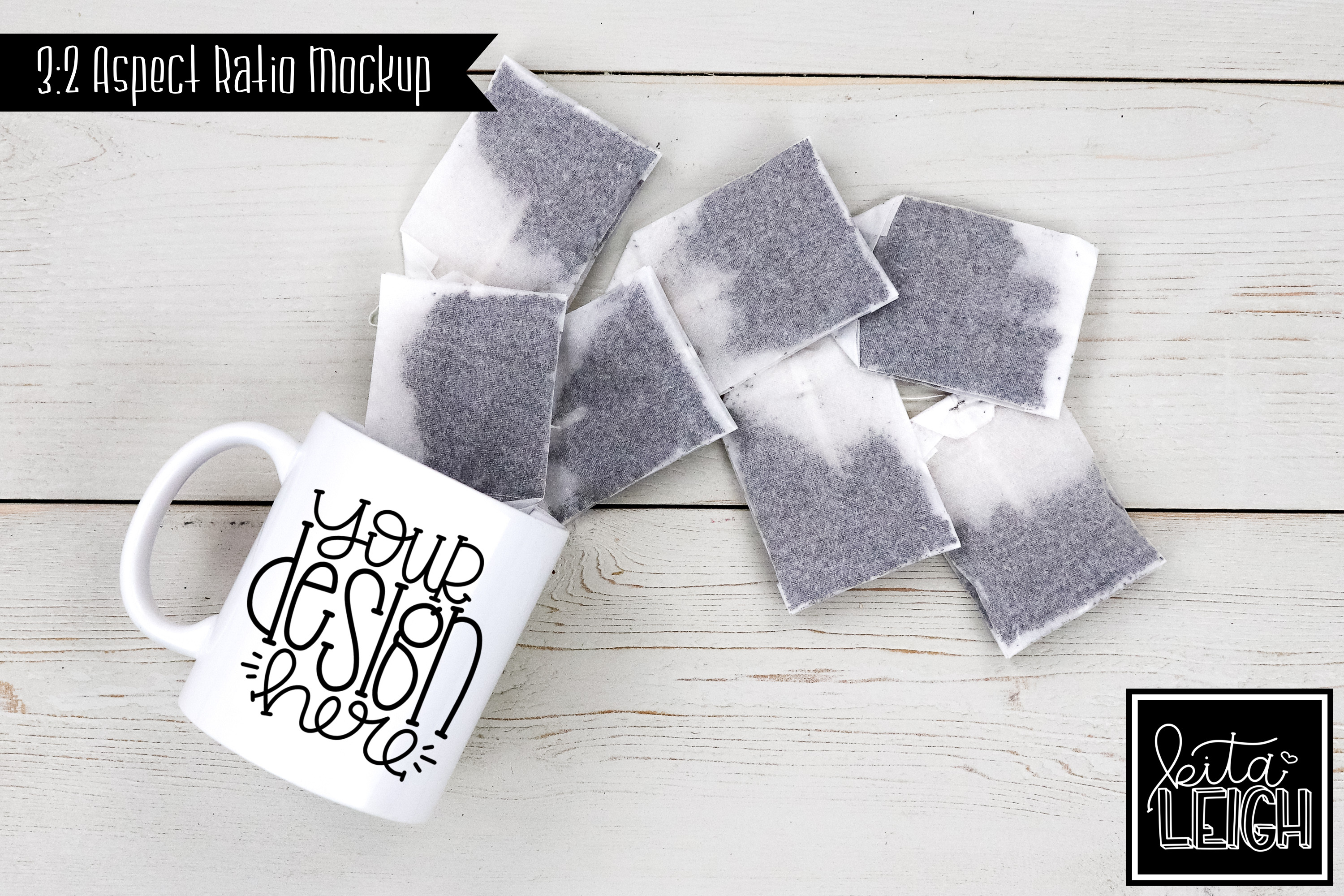 11 oz Mug Mockup with Chocolate, Coffee, Tea, and Mallows example image 3