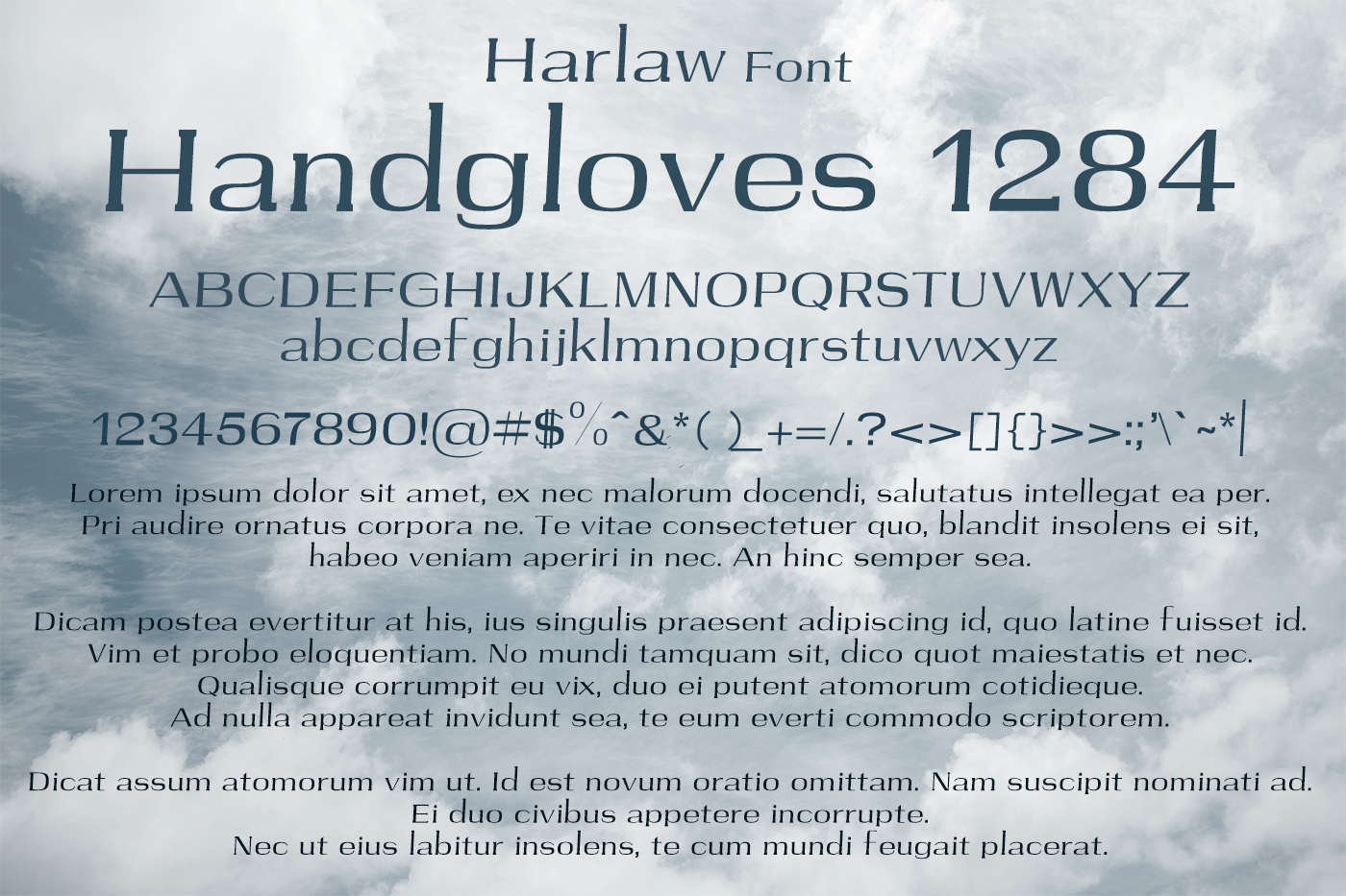 Harlaw Font example image 2