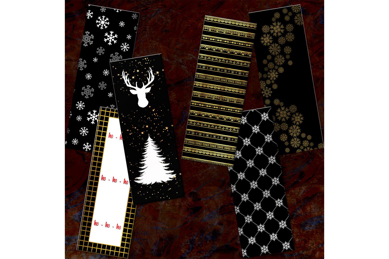 Christmas Printable, Bookmarks Digital, Card Christmas example image 2