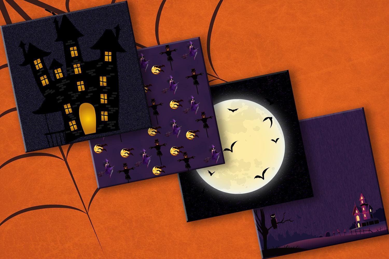 Картинки, открытки на хэллоуин скрап