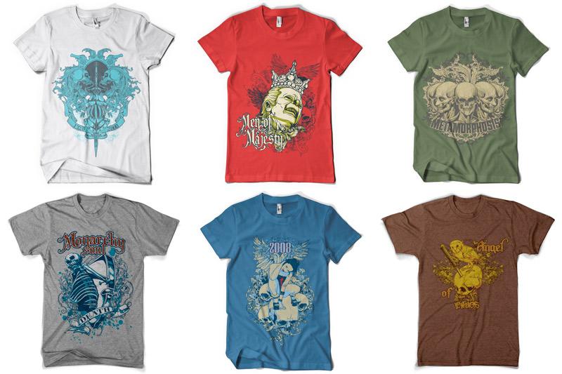 100 T-shirt Designs Vol 2 example image 11
